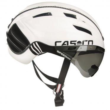 Casco SPEEDster TC plus Fietshelm wit/zwart