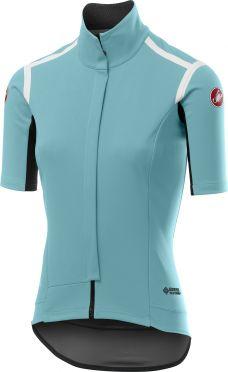 Castelli Gabba RoS W fietssvest korte mouw licht blauw dames
