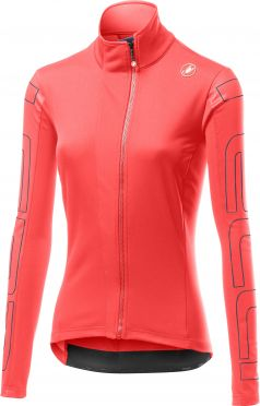 Castelli Transition 2 W fietsjack roze dames