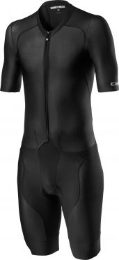 Castelli Sanremo 4.1 speed suit korte mouw zwart heren