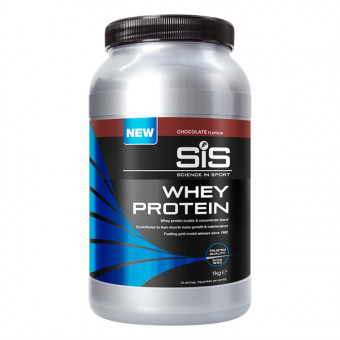 SIS Recoverydrink whey protein pot chocolade 1kg