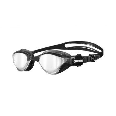 Arena Cobra Tri mirror triathlon zwembril zilver/zwart