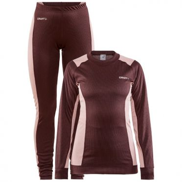 Craft Core Dry thermo onderkleding set rood dames