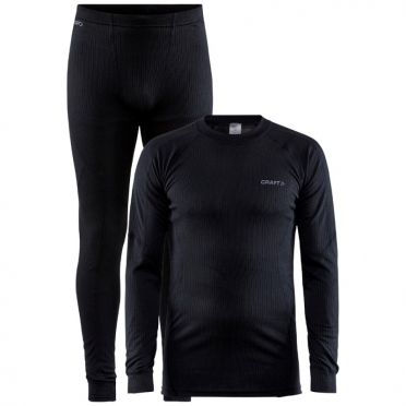 Craft Core Dry thermo onderkleding set zwart heren