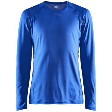 Craft Essence slim hardloopshirt LS blauw heren