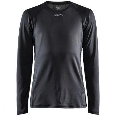 Craft Essence slim hardloopshirt LS zwart heren