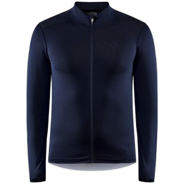 Craft Advanced bike Essence fietsshirt lange mouw blauw heren