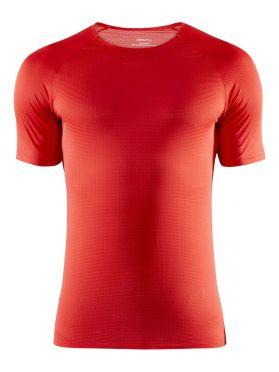 Craft Pro Dry Nanoweight korte mouw ondershirt rood heren