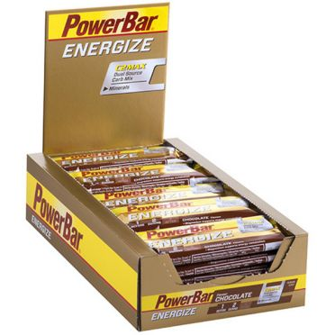 Powerbar Energize bar energiereep chocolade 25 x 55 gram