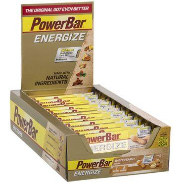 Powerbar Energize bar energiereep zoute pinda 25 x 55 gram