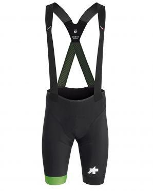 Assos S9 Equipe RS bibshort zwart/groen heren