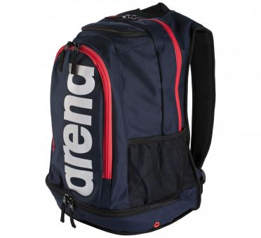 Arena Fastpack core blauw/rood