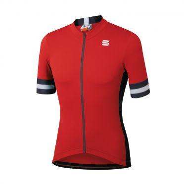 Sportful Kite fietsshirt korte mouwen rood heren