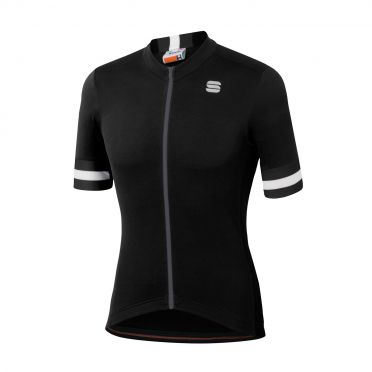 Sportful Kite fietsshirt korte mouwen zwart heren