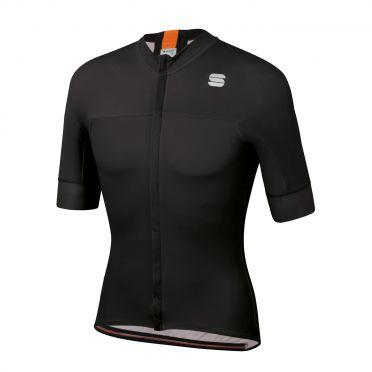 Sportful Bodyfit pro classic fietsshirt korte mouwen zwart/oranje heren