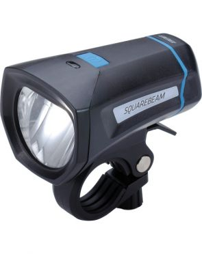 BBB BLS-101K Squarebeam koplamp zwart