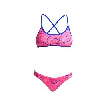 Funkita Rock salt Tie down bikini set dames