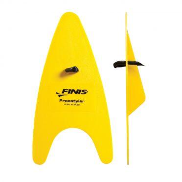 Finis Freestyler handpeddels geel
