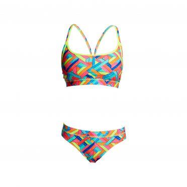 Funkita Panel pop Sports bikini set dames