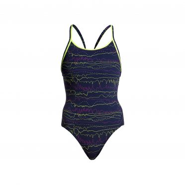 Funkita Sound system diamond back badpak dames