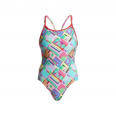 Funkita Street view diamond back badpak dames
