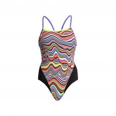 Funkita Dripping single strap badpak dames