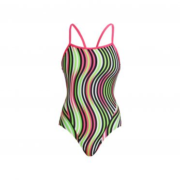 Funkita Tumble turn single strap badpak dames