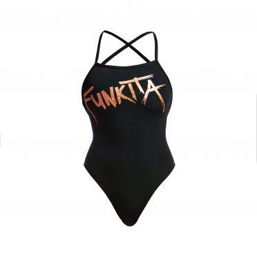 Funkita Bronzed strapped in badpak dames