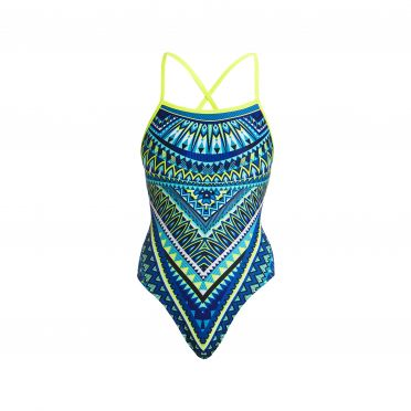 Funkita Ice queen strapped in badpak dames