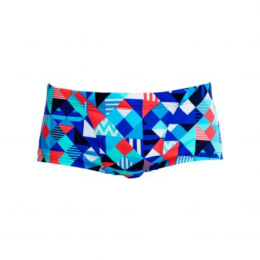 Funky Trunks Check republic Classic trunk zwembroek heren