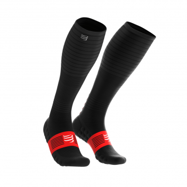 Compressport Full socks oxygen compressiesokken zwart