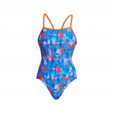 Funkita Flaming Vegas single strap badpak dames
