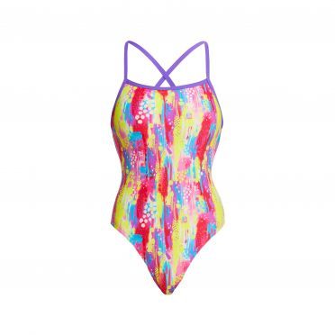 Funkita Splat Stat strapped in badpak dames