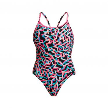 Funkita Live Streamer diamond back badpak dames