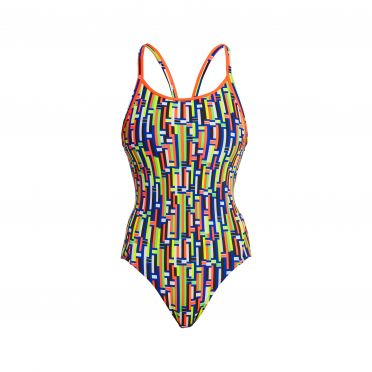 Funkita Prime Time diamond back badpak dames