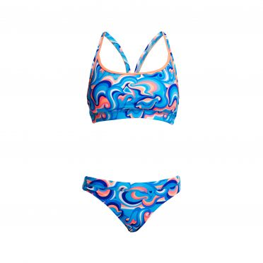 Funkita Double Scoop Sports bikini set dames