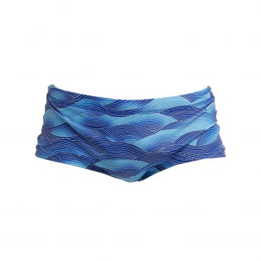 Funky Trunks Cold Current plain front trunk zwembroek heren