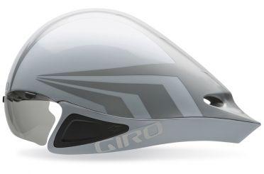 Giro Selector Fietshelm wit/zilver
