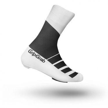 GripGrab RaceAero TT overschoenen zwart/wit