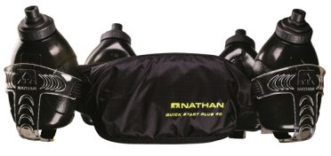 Nathan QuickStart plus 40 drinkgordel zwart