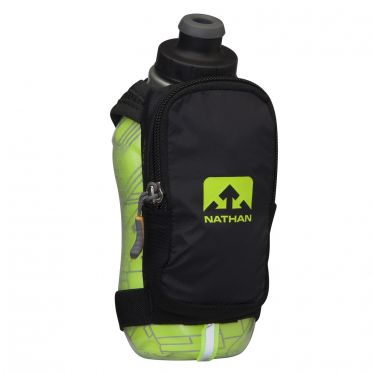 Nathan SpeedShot plus insulated drinkfles groen/zwart
