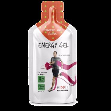 Hiddit Energy gel box aardbei - kiwi 10x3 (40g)