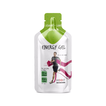 Hiddit Energy gel box citroen - limoen 10x3 (40g)