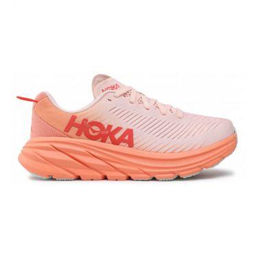 Hoka One One Rincon 3 hardloopschoenen licht roze dames