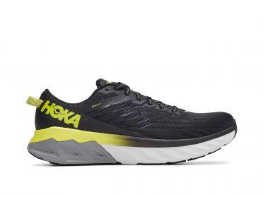 Hoka One One Arahi 4 hardloopschoenen zwart/geel heren