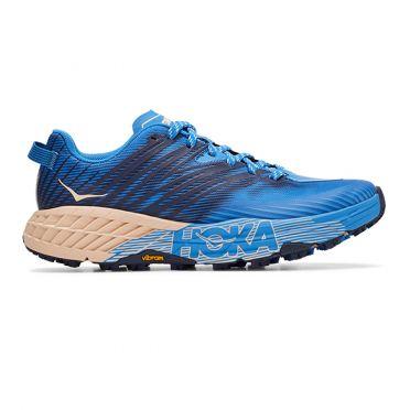 Hoka One One Speedgoat 4 trail hardloopschoenen blauw dames