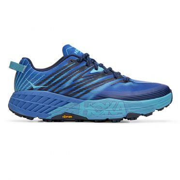 Hoka One One Speedgoat 4 trail hardloopschoenen blauw heren
