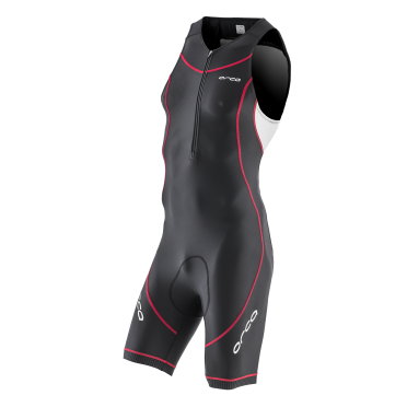 Orca Core basic race trisuit zwart/wit/rood heren