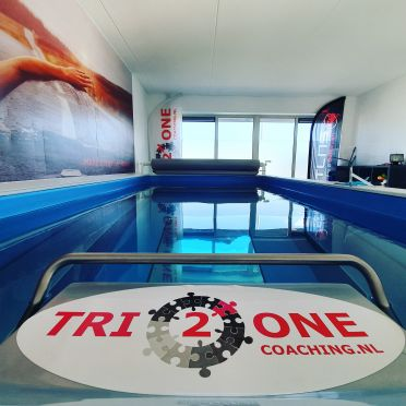 Zwemanalyse in Endless Pool bij Tri2one Coaching