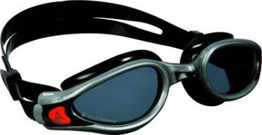 Aqua Sphere Kaiman EXO donkere lens zwembril zwart/zilver